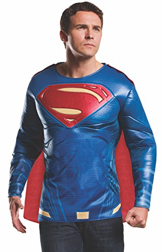 Rubies Costume Men's Batman v Superman: Dawn of Justice Superman Muscle Chest Top, Multi, X-Large