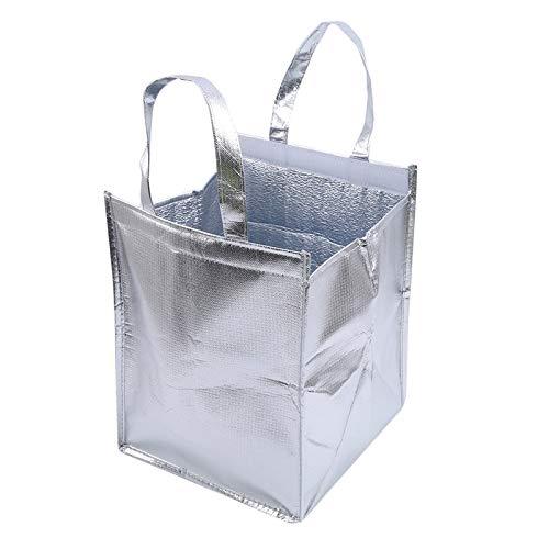 WJBABJ Picknick-Rucksack Picknick-Beutel-Aluminiumfolie Ice-Speicher-Beutel Insulated Strand Lebensmittel Thermal Bag Durable Außenboxen Faltbare Kühltasche Lunch (Color : 6inch)