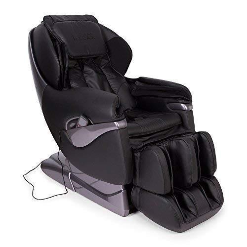 Samsara® Sillon de Masaje 2D - Negro (Modelo 2021) - Sofa masajeador electrico de Relax con shiatsu - Silla butaca con presoterapia, Gravedad Cero, Calor y USB - Garantía 2 Años