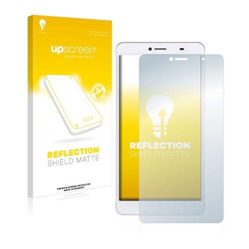 upscreen Entspiegelungs-Schutzfolie kompatibel mit Doogee Y6 Max – Anti-Reflex Bildschirmschutz-Folie Matt