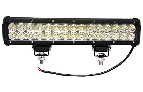 90W Auto LED Light Bar,ALPHA DIMA Offroad Zusatz Scheinwerfer Geführtes Arbeits-Licht-Bar Wasserdicht IP67 Lightbar Scheinwerfer für Offroad Traktor SUV UTV ATV