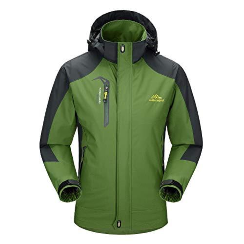 Waterdichte en ademende jas voor heren, heren outdoor waterdichte jas, lichtgewicht Softshell regenjas, klimmen wandelen kleding windbreaker