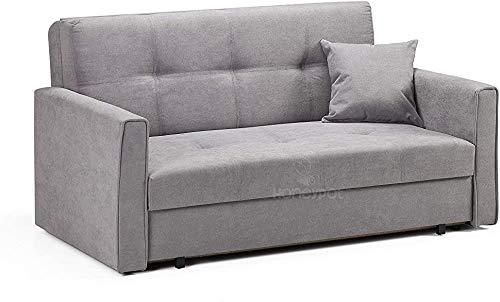 Sofá, Sofá Sillón Sillón Sofá cama, 2 personas Tela de ropa de cama Doble asiento Sofá Sofá Sofá,Grey