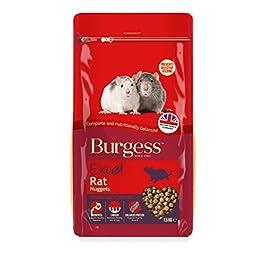 Excel Burgess Rat Nuggets (4 x 1.5kg)