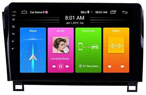 Doble DIN Coche Estéreo GPS Navegación Android 10.0 para Toyota Sequoia 2008-2015 Radio de automóvil 9 Pulgadas Pantalla táctil Completa Satnav