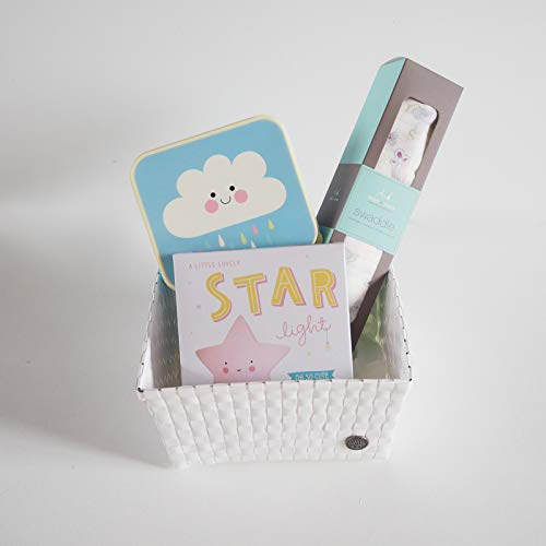 MINIMOI | Canastilla Regalo Bebé Recién Nacido | Estilo: Top | Color: Rosa