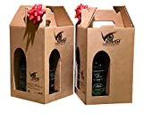 Birra Artigianale BIRRA LAVAL® - PROVALAVAL - 8 bottiglie da 0,33 lt. in doppia confezione regalo assortita.