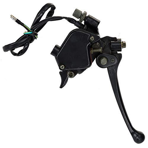 HIAORS 7/8' 22mm Thumb Throttle with Dual Brake Lever for 50cc 90cc 110cc 150cc 250cc ATV Quad Roketa Taotao Sunl Buyang Kazuma Falcon Meerkat Peace Sports 110cc Parts