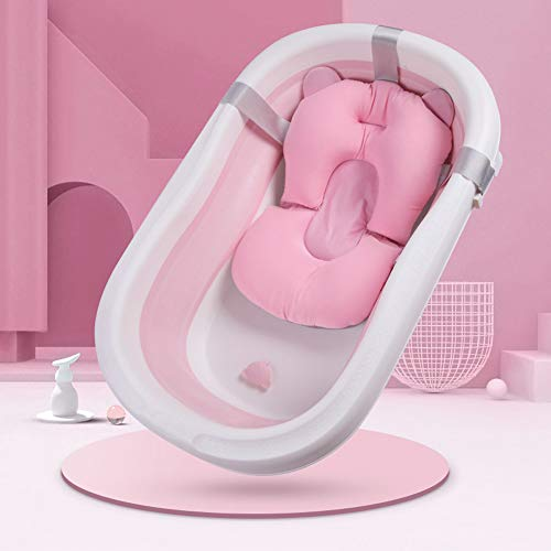 Newborn Baby Bath Cushion Tub Infant Bathing Pad Baby Shower Mat Non-Slip...
