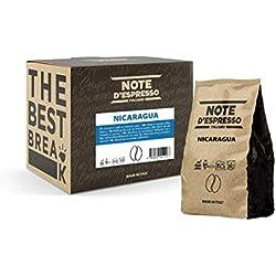Café en grano de Nicaragua Note d'Espresso