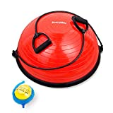 Best Balance Trainers - EveryMile Half Ball Balance Trainer Stability Yoga Exercise Review