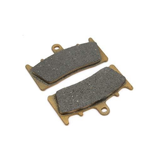 Un Xin 1 Paire Avant Plaquettes de Frein 89 x 53 x 8.3 mm pour Zx600 Zx7r Zx9r Zx12r Zx1200 ZRX 1200 R Jaybrake GSXR 750 GSXR 1000 GSX 1400