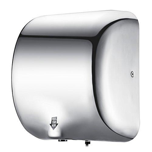 Cueffer Secador de Manos 1800 W Secador de Manos Electrico 90 m/s...