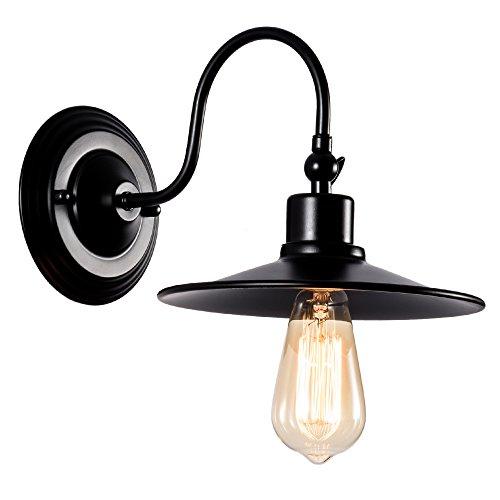 Industrial Apliques de Pared Metal Lampara Vintage Retro Lámpara Rustica de Pared E27 para la Salon, Cocina, Desván, Restaurante, Cafe, Club Decoración