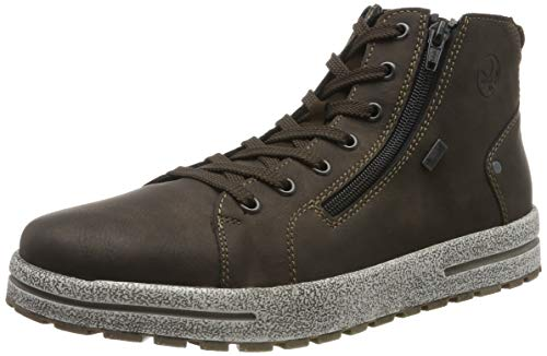 Rieker Herren 30721 Klassische Stiefel, Braun (Moro/Moro/ 25 25), 42 EU