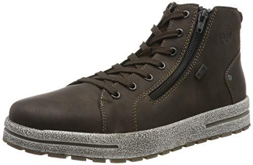 Rieker Herren 30721 Mode-Stiefel, Braun (Moro/Moro/ 25 25), 42 EU