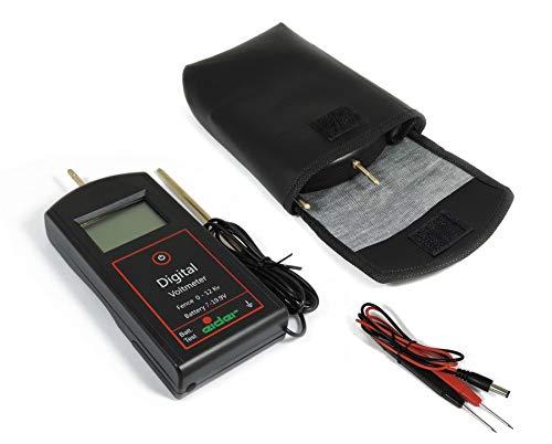 Eider Digital Voltmeter - Zaun- & Batterie-Tester, Schwarz