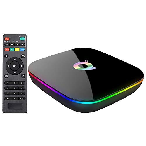 zrshygs Q Plus Smart TV Box And roid 9.0 TV Box 4GB RA M 32GB ROM 2.4G WiFi Set Top Box