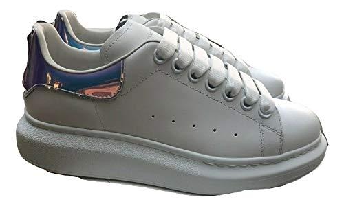 Alexander McQueen White Oversize Sneakers New FW20 (9)
