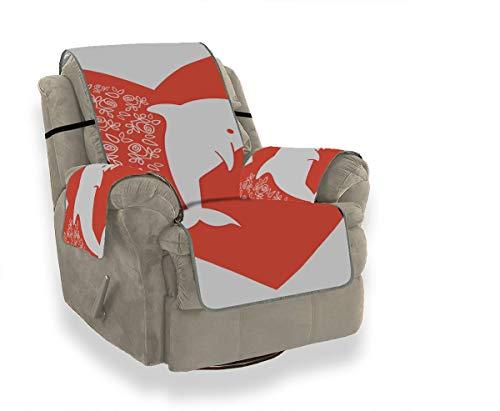 Dolphoin Romantic Story Sofabodenkissen Schonbezüge Ohrensessel Lodge Sofabezug Möbelbeschützer Für Haustiere Kinder Katzen Sofa
