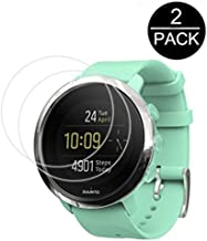 Tempered Glass For Suunto 3 Fitness Screen - [2pack] Screen Protector 9H Ultra-thin Clear Explosion-proof Premium Film For Suunto 3 Fitness