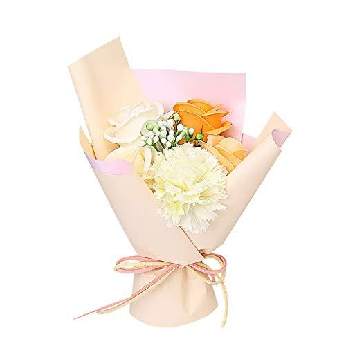 About1988 Valentinstag DIY Seife Blumen, künstlich rose soap blumen, DIY Blumensträuße Baby Dusche Rose, Dekoration für Romantische Atmosphäre und Hochzeit Party, Valentinstag Deko, Taufe, Datierung