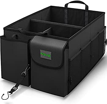 Drive Auto Trunk Organizers with Adjustable Straps