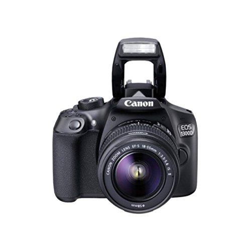 Canon EOS 1300D / Rebel T6 / KISS X80 18-55/3.5-5.6 EF-S III 75-300/4-5.6 EF III - Cámara digital
