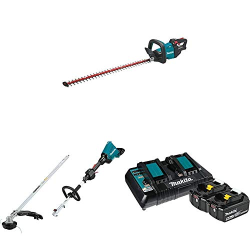For Sale! Makita XHU08Z 18V LXT Lithium-Ion Brushless Cordless 30 inch Hedge Trimmer and XUX01ZM5 Co...