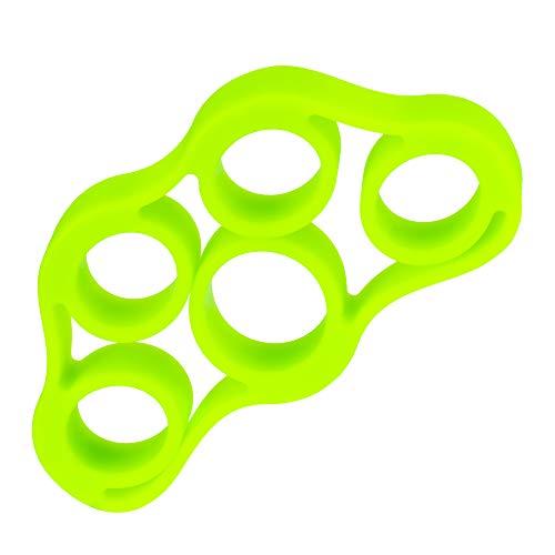 Extensor Elástico para Fortalecimento dos Dedos, 4 kg/8.8Lb, Verde, LiveUp