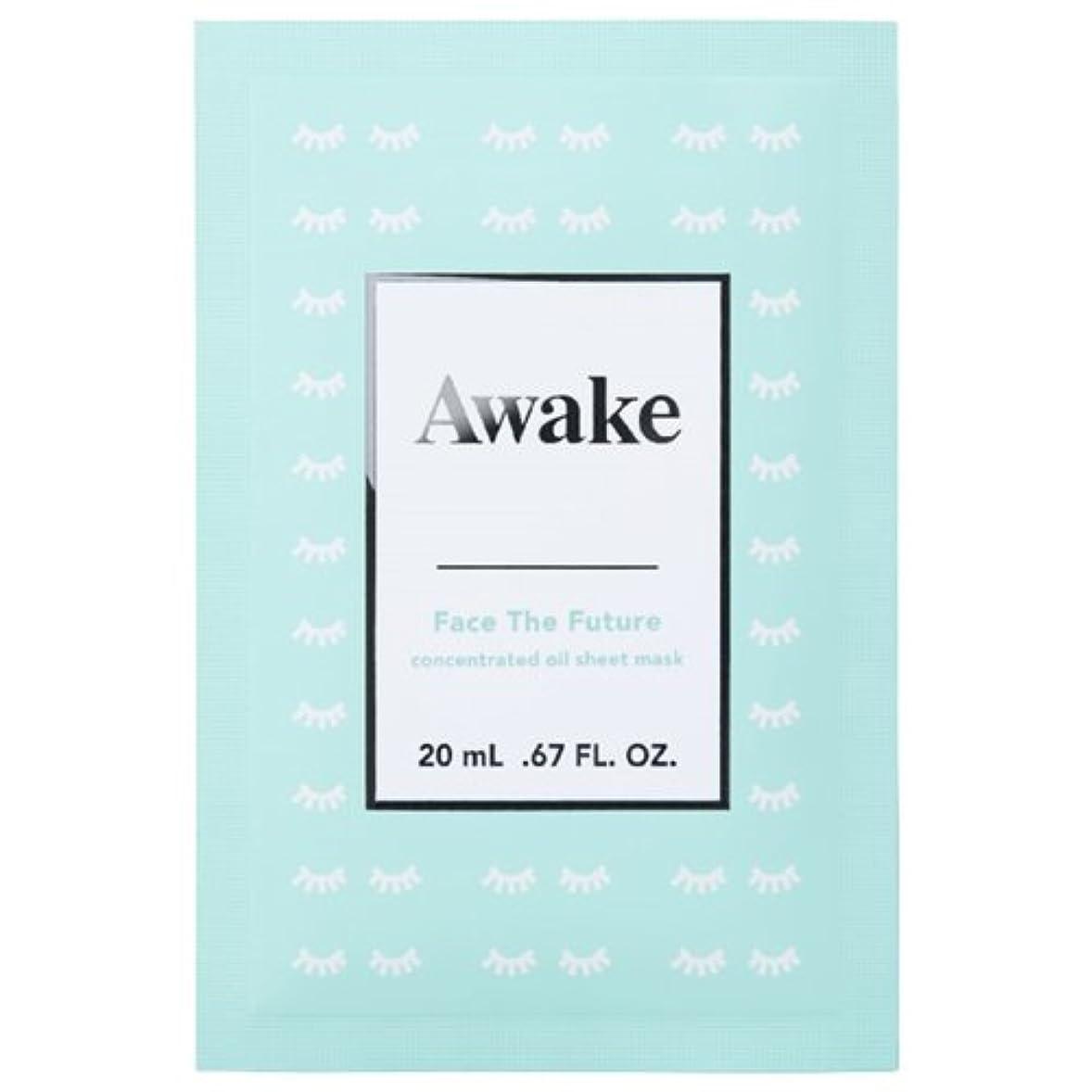 楽観融合波アウェイク(AWAKE) Awake(アウェイク) フェイスザフューチャー コンセントレイティッド オイルシートマスク (20mL × 6枚入)