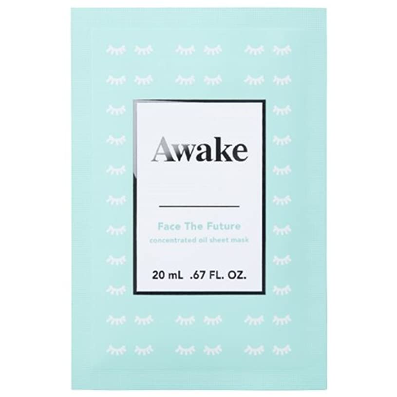 器用落ち込んでいるスキップアウェイク(AWAKE) Awake(アウェイク) フェイスザフューチャー コンセントレイティッド オイルシートマスク (20mL × 6枚入)