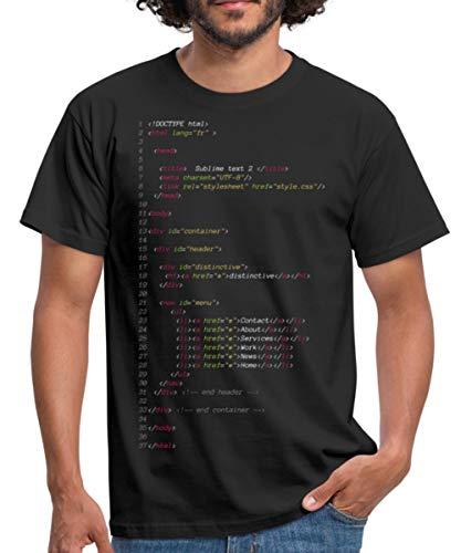 Langage Informatique Fichier HTML T-Shirt Homme,...