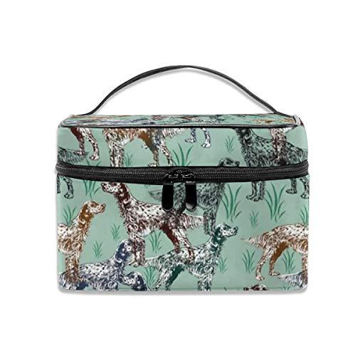 Bolsa de aseo portátil de viaje, bolsa de cosméticos de tela para mujeres y niñas, bolsa de maquillaje, bolsa de almacenamiento