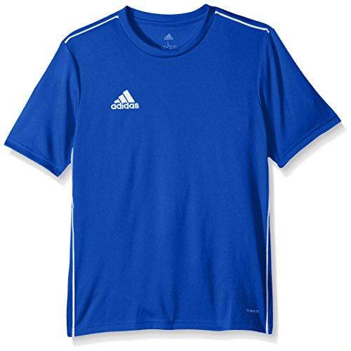 adidas Fußballtrikot Core 18 für Kinder, Unisex, Unisex-Kinder Jungen, adidas Jugend Soccer Core18 Trainings-Trikot, Adidas Sportschuhe mit Stollen, Medium