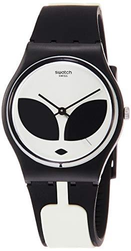 Swatch Orologio Analogico Quarzo Uomo con Cinturino in Silicone GB307