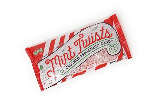 Atkinson's Mint Twists Crushed Peppermint Candy (1 Bag 8 oz)