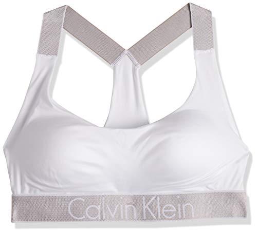 Calvin Klein Damen Lift Bralette BH-Einlage, Weiß (White 100), M