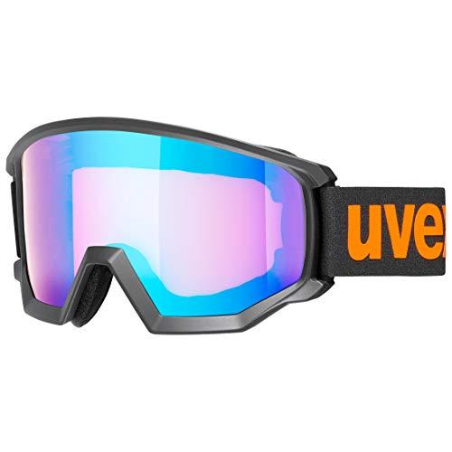 uvex Unisex– Erwachsene, athletic CV Skibrille, black mat, one size