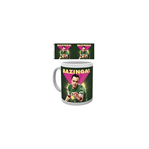 GB eye Ltd MG1138 The Big Bang Theory Sheldon Bazinga Tasse en bois 15 x 10 x 9 cm