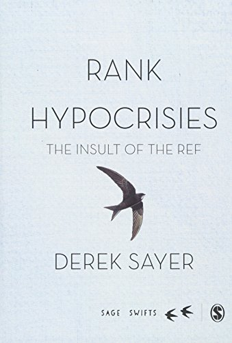 Rank Hypocrisies: The Insult of the REF (SAGE Swifts)の詳細を見る