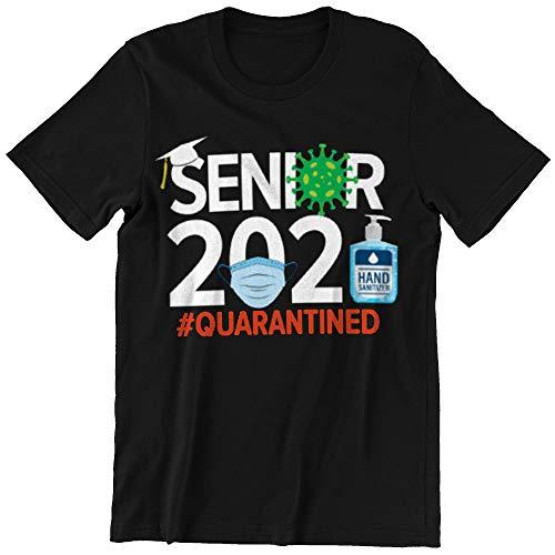 Senior 2021 Quarantined C-o-r-o-n-a-v.i.r.u T-Shirt Long Sleeve Sweatshirt Hoodie