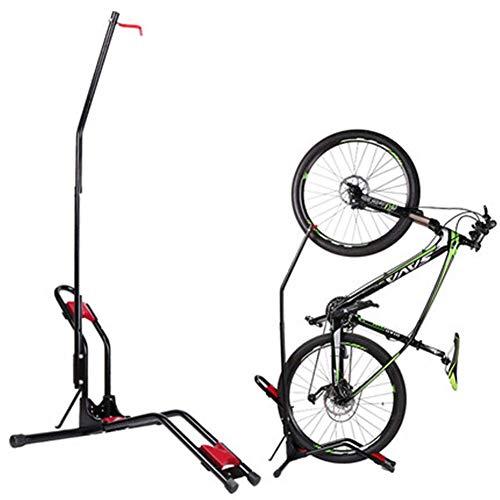 WYJW Soporte de Suelo para Bicicletas, Soporte para portabicicletas para Vertical, Horizontal, Interior, Bicicleta de montaña, Bicicleta de Carretera, Almacenamiento, Ahorro de Espacio