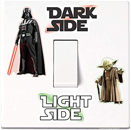 Star Wars Darth Vader Home Decor Wall Decal Fashion Vinyl Switch Sticker