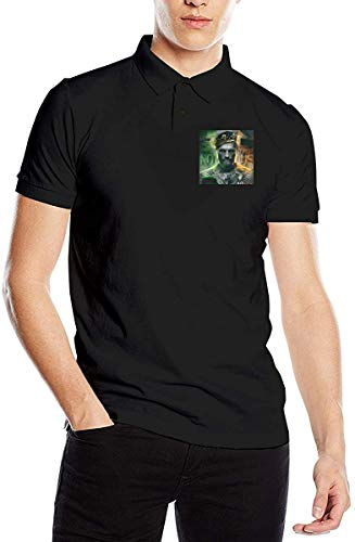 Fashion Men's T-Shirt Conor Mcgregor. Polo Shirts Short Sleeve Tees,Black,Large
