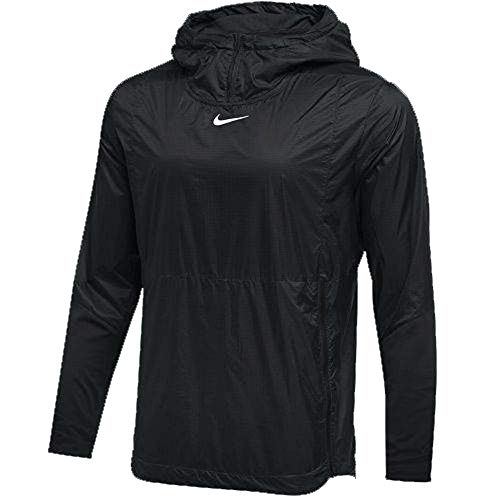Nike Mens Authentic Collection Lightweight Fly Rush Jacket Black/White Size XL