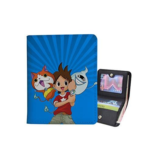 Yo-Kai Watch Backpack Classic Casual Wallet Purse Stylish Cartoon Wallet Purse Unisex Women and Men Storage Wallet Purse Light Stylish Wallet Purse Unisex (Color : A06, Size : 10 X 11.3 X 1.5cm)