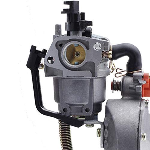 QIUXIANG Gasolina Bomba de Agua carburador carbohidratos en Forma for Honda GX160 Dual 2KW 168F generador de Combustible Motocicleta del Coche de la quitanieves Accesorios Motosierra