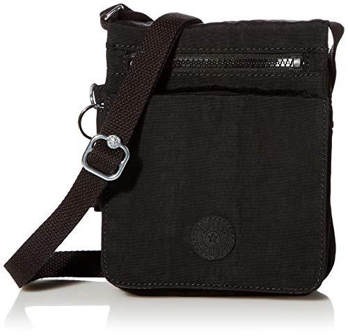Kipling Women's New El Dorado Crossbody Bag, black noir, One Size
