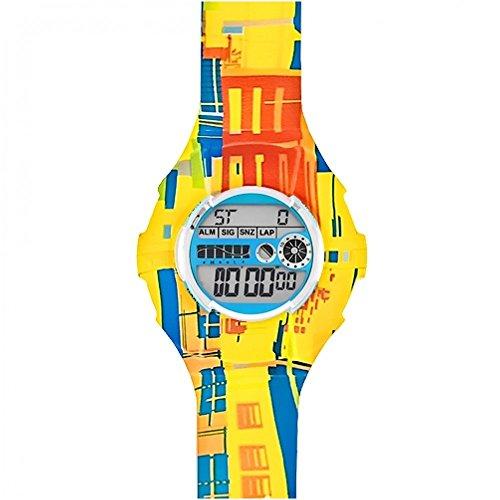 JoyJoy! Subway Train Interchangeable Silicone Watch JJ-4025W